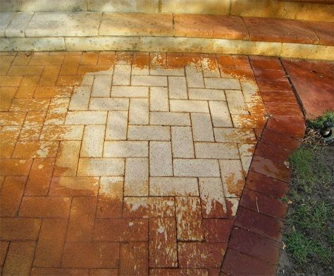rust stain removal gold coast