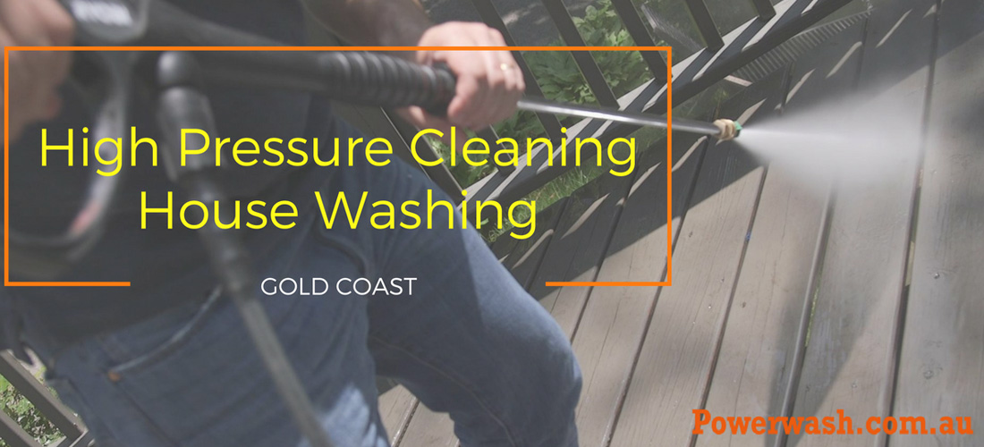High Pressure Cleaning in Gold Coast